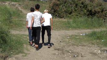 Minderjährige aus Camp Moria