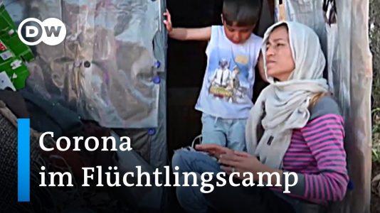 Wie das Coronavirus das Flüchtlingselend in Griechenland verstärkt | DW